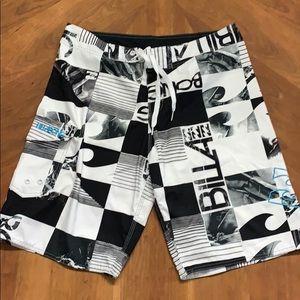 Billabong 34 swim surf board shorts suit trunks